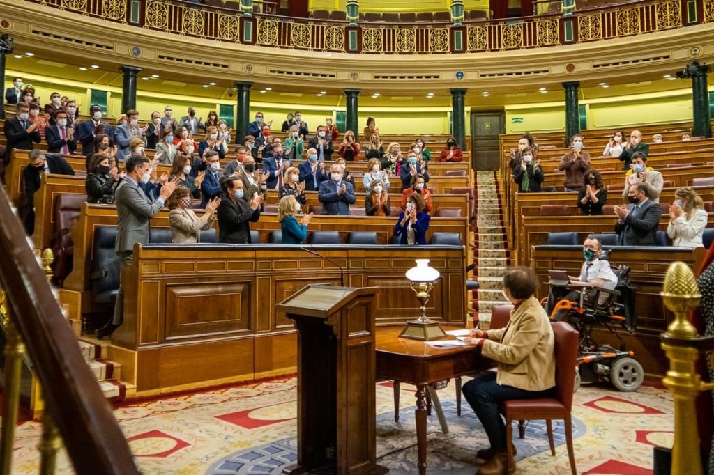 Congreso de los Diputados tras la aprobación de los Presupuestos