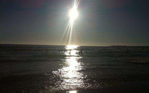 Reflejo en mar